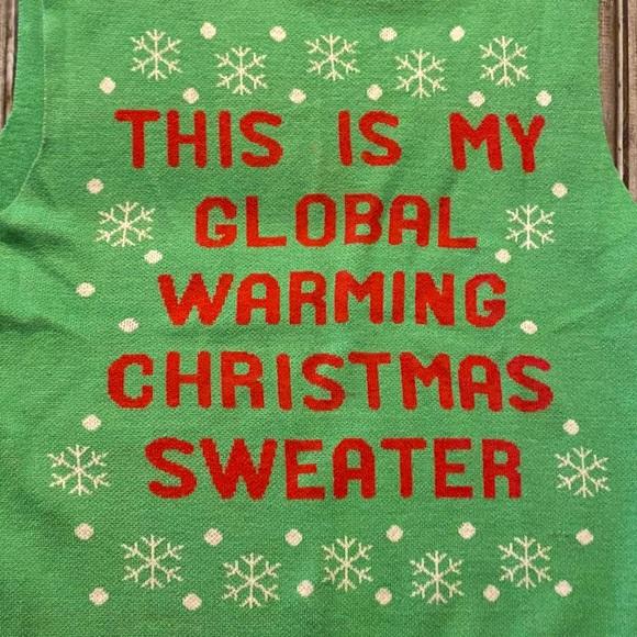 American Rag Christmas sweater vest